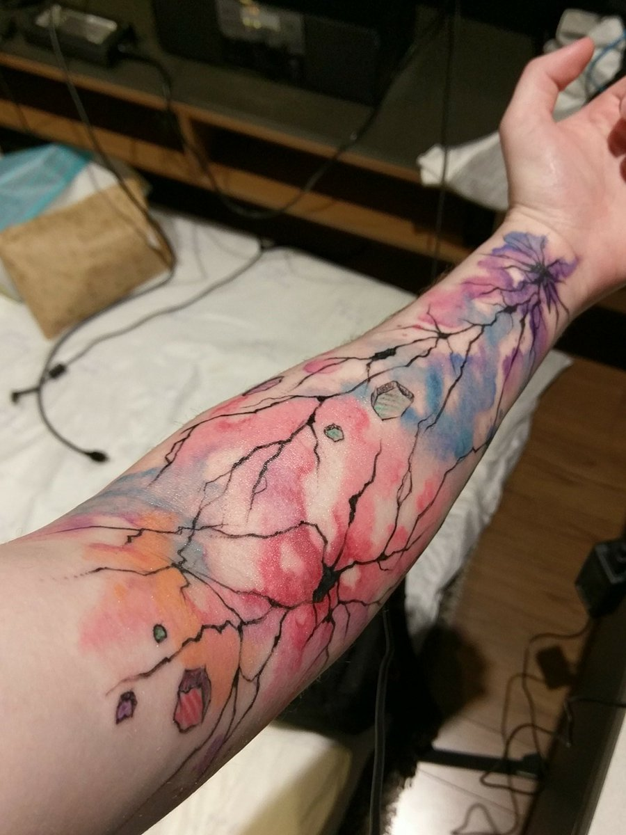 Kyle Souder On Twitter Water Color Tattoo In Korea It May Look