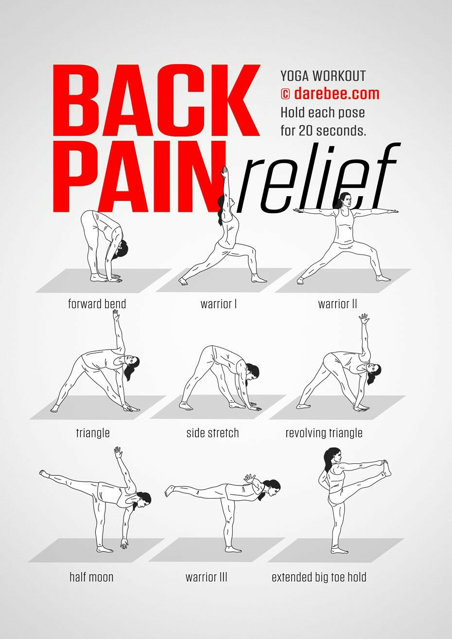 Darebee On Twitter Quot Workout Of The Day Back Pain Relief