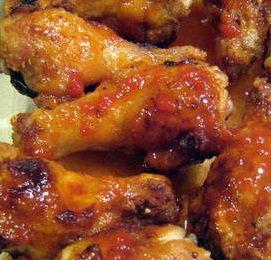 Sweet-Sour Chicken Drummettes