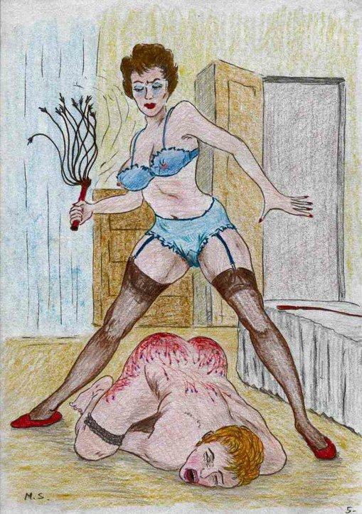 Lehrerin Grossmutter Cockold Handjob