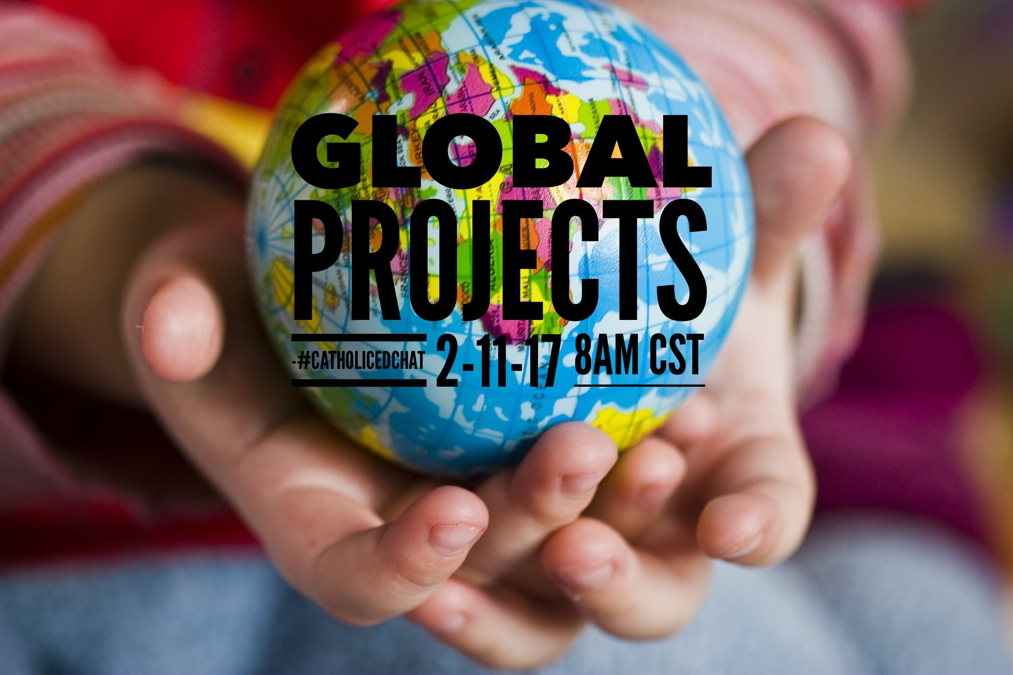 Join us at 8am CST for #CatholicEdChat our topic is Global Projects https://t.co/TDRZMqoEXA