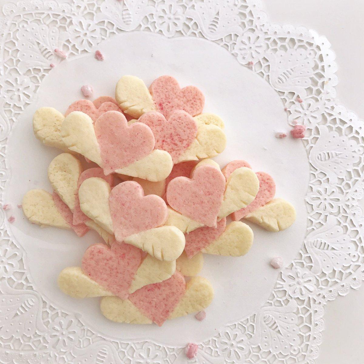 ハートのCookie と、 パイを焼いたにゃん  Valentine第2弾 🐱
