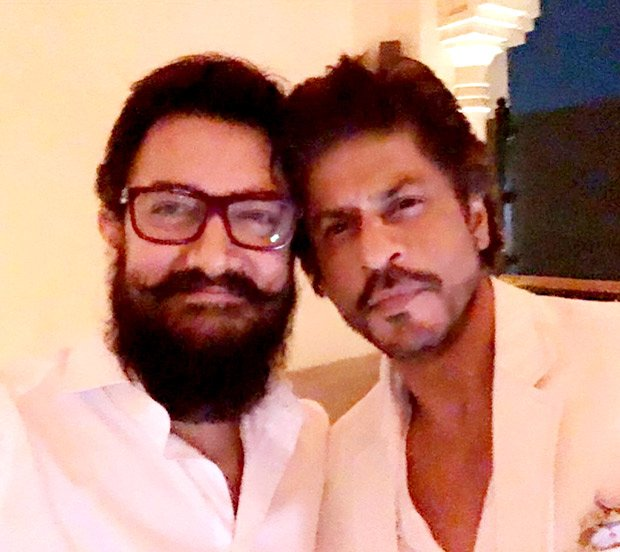 Check out: Aamir Khan and Shah Rukh Khan pose for a selfie together goo.gl/lK6amm
