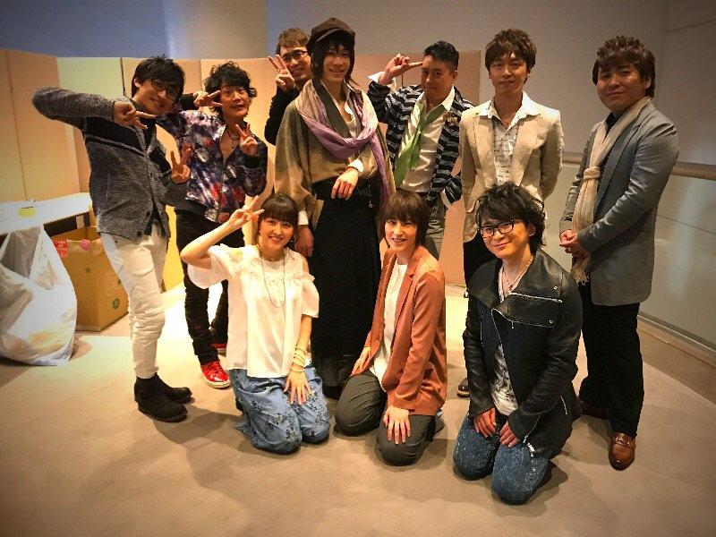 そう言えば本日の昼の公演には舞台遙かなる時空の中で6の村雨役、田中稔彦さん達もいらっしゃったのです。…