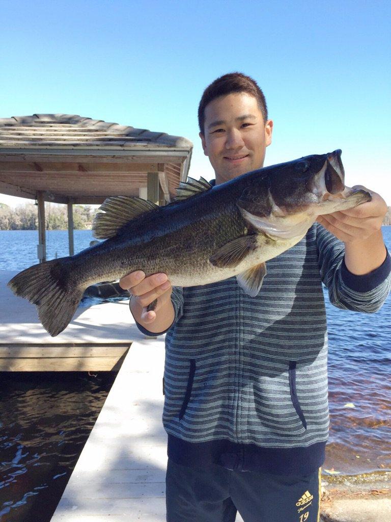 最近釣った56.5㎝🎣 #Florida #bassfishing