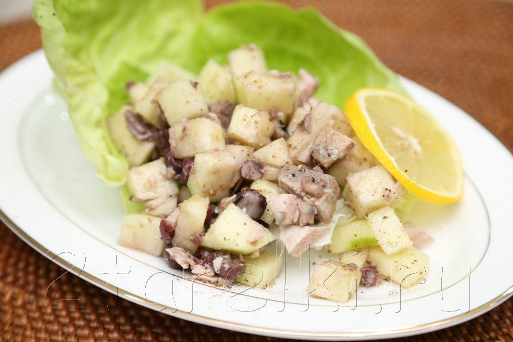 Салат из тунца консервированного рецепты с фото