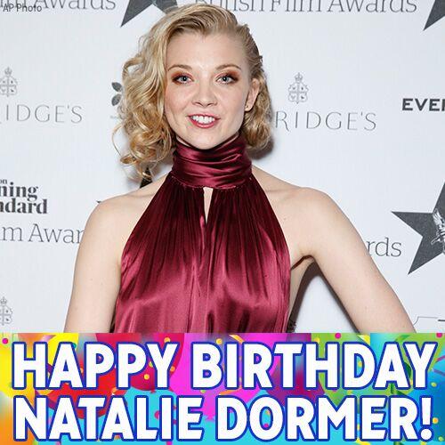 "Happy Birthday to \""Game of Thrones\"" star Natalie Dormer!"