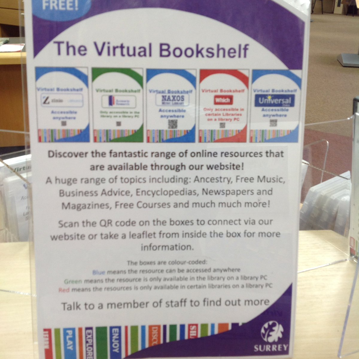Co colour coordinated bookshelf - Discover Our Virtual Bookshelf Here Staineslibrary Have A Browse And Then Use The Online Resources Either At The Library Or At Home Pic Twitter Com
