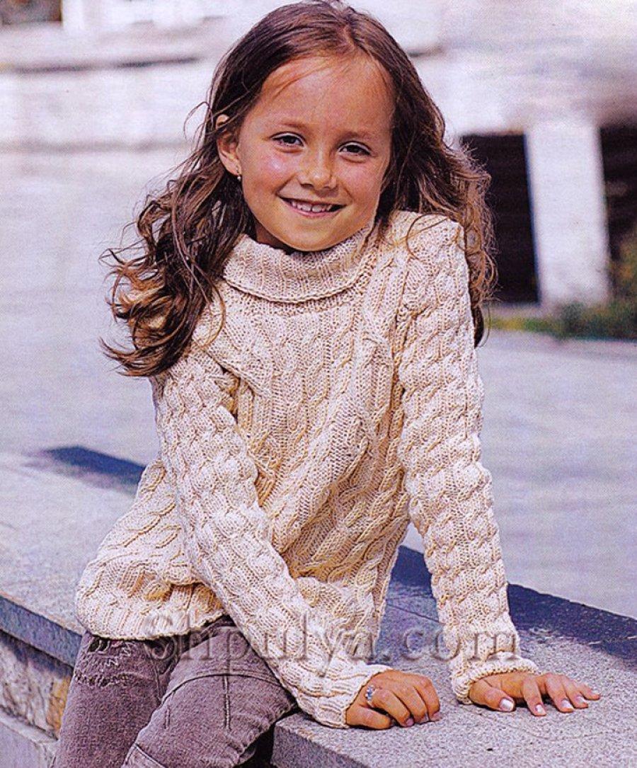 вязание узоры спицами схемы для девочки
