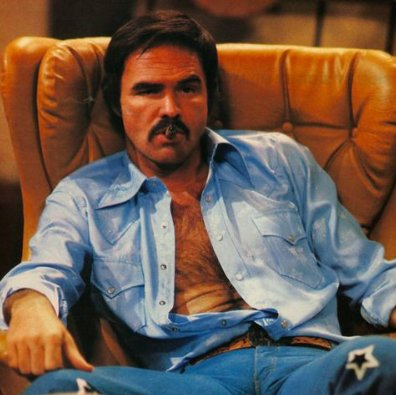 Happy 81st birthday to one of my many doppelgängers, Mr. Burt Reynolds!