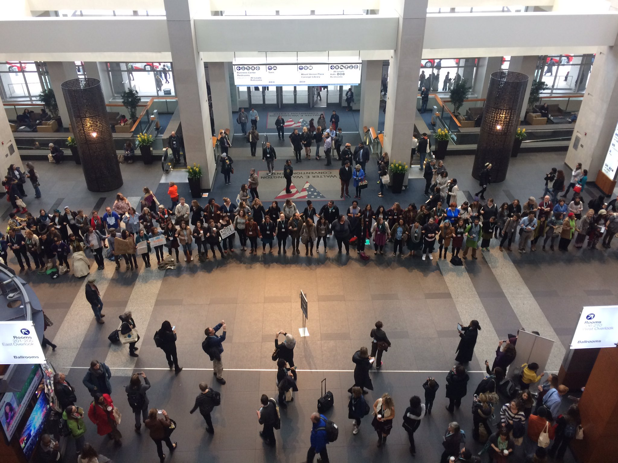 'No process, no peace.' This is happening at #AWP17 right now. https://t.co/x3UOFUNmtd