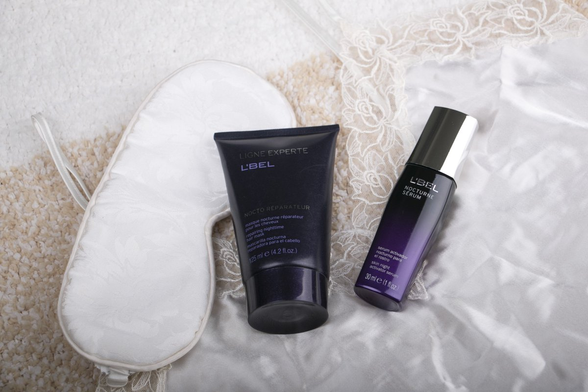 Dos productos para reparar tu belleza mientras duermes. https://t.co/Y16mxclUJg
