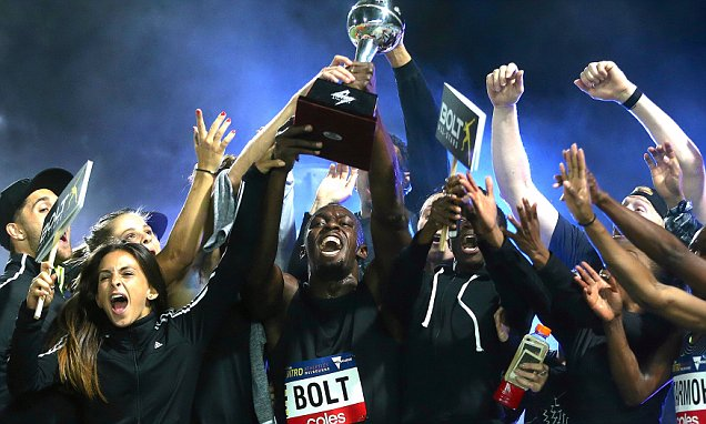 Usain Bolt wins 150m as All Stars complete clean sweep #usain #stars #complete #clean #sweep  http:// dlvr.it/NLnFpn  &nbsp;  <br>http://pic.twitter.com/YY0YrhG5jL