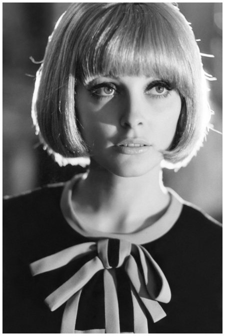 Happy birthday Mary Quant Sharon Tate in a Quant dress, 1966 Getty Archive