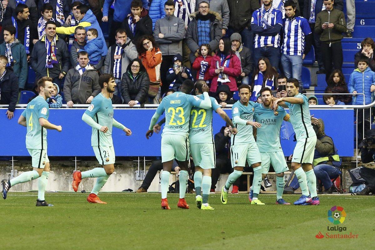 barcelona vs alavés