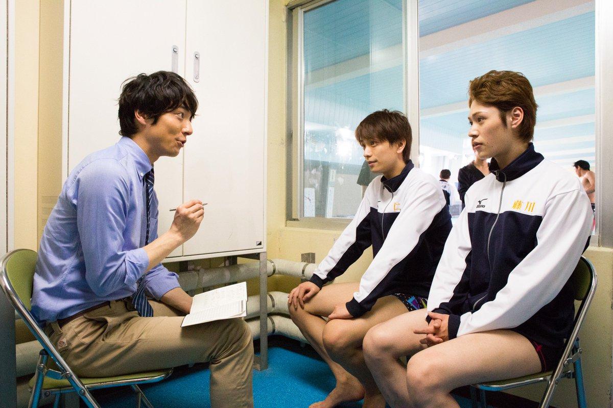 男水!4話、ご視聴ありがとうございました!第5話は、龍峰回です! そして5話はゲストとして、和田琢磨…