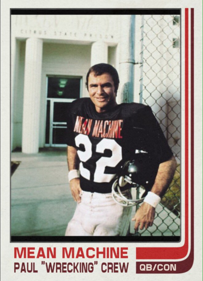 Happy 81st birthday to Burt Reynolds. Most successful Florida State football player.