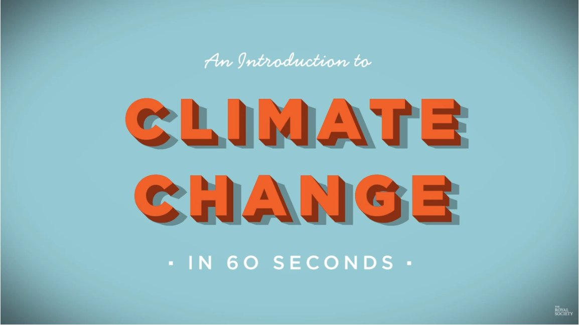 The science behind #climatechange - our 60 second introduction w/ @theNASciences https://t.co/V6yURBme6e https://t.co/uquBe8UQQj