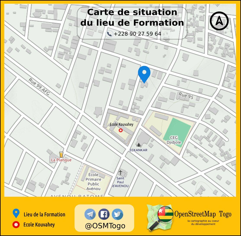 Lundi 13 février @OSMTogo lance la #formation à la #cartographie  #numérique  #collaborative #OpenStreetMap #tech228 #Tgtech  #map4tg<br>http://pic.twitter.com/6bz6vf67Ik