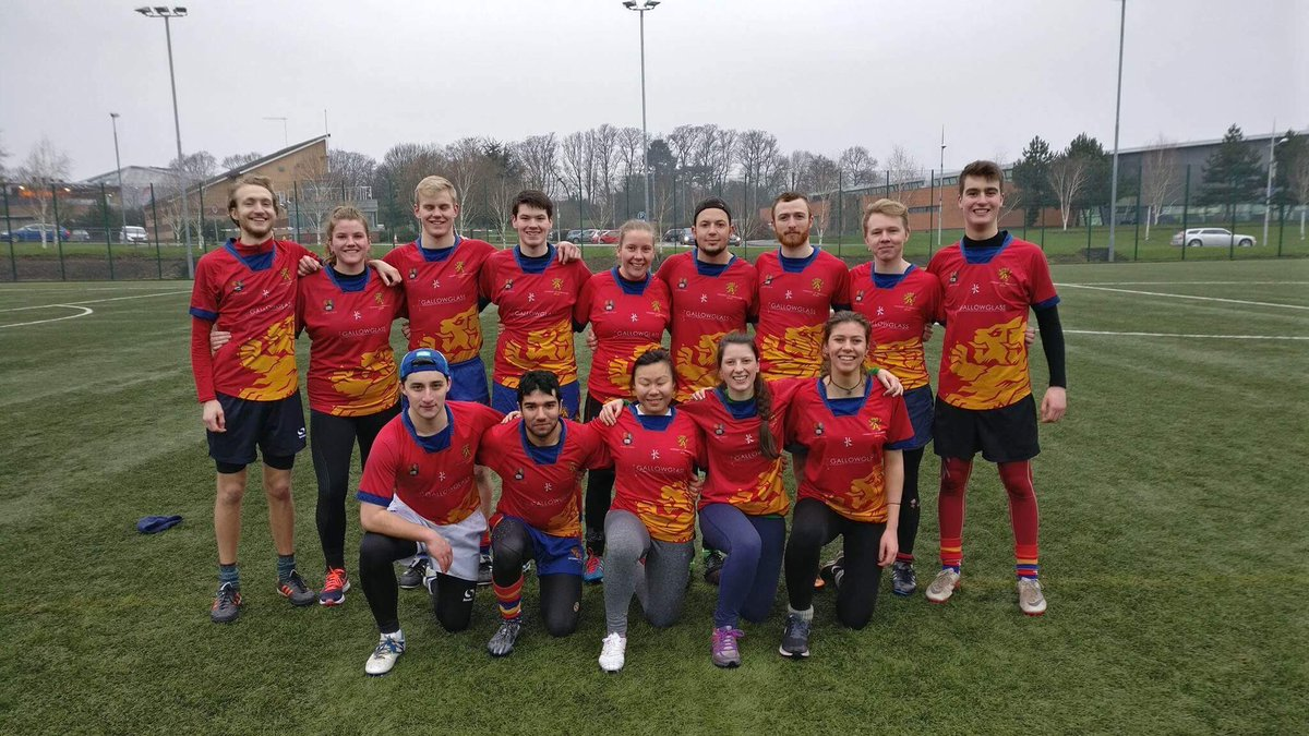 University Of Birmingham Touch Rugby