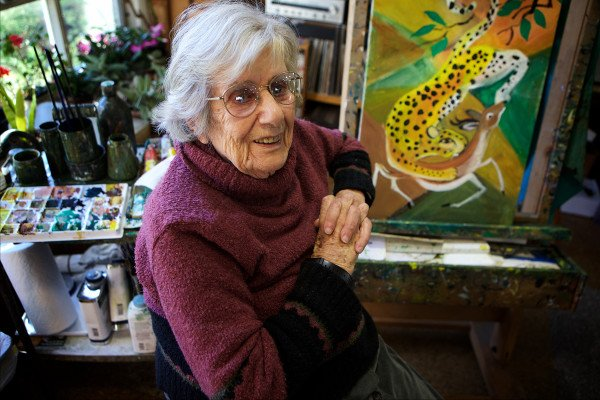 Renowned Maine artist Dahlov Ipcar, 99, has died https://t.co/Tf8gAgyl82 https://t.co/FOrTJK9W4G