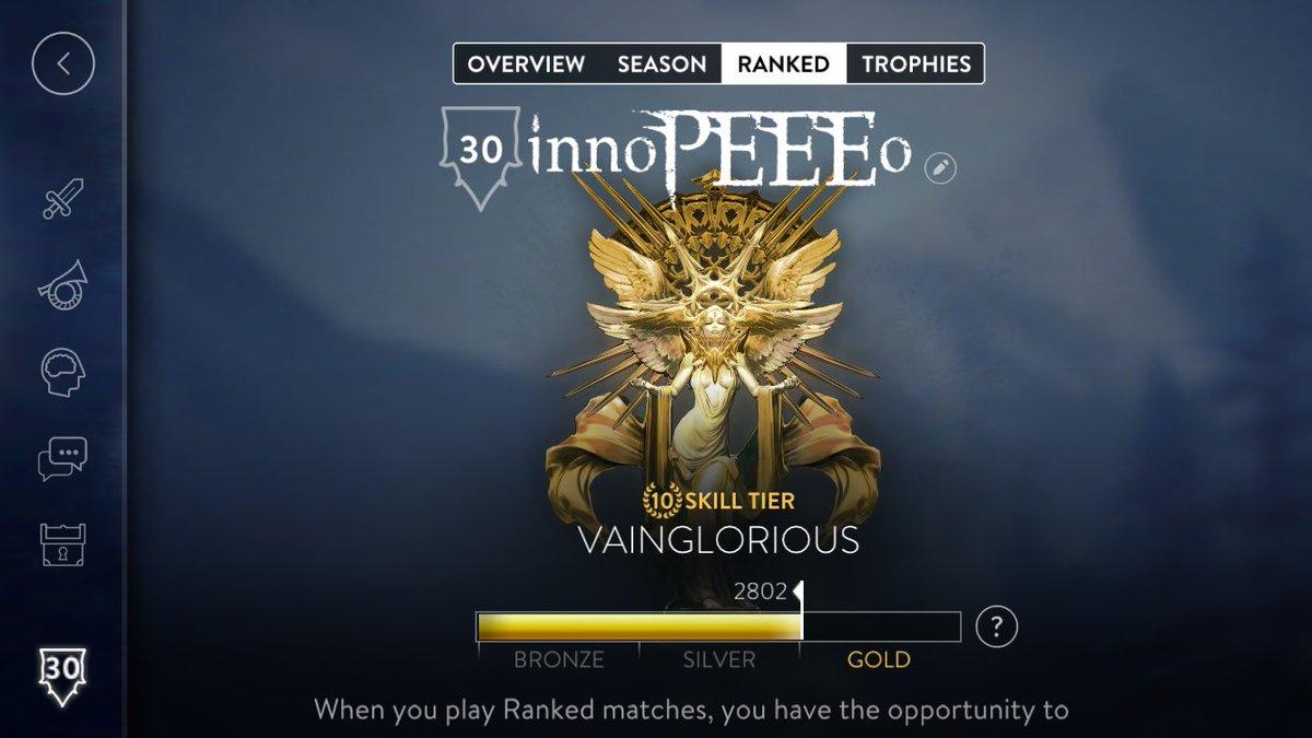 Vainglorious Gold!  遊んでくれた人達ありがとうございました!  @tatuki_…