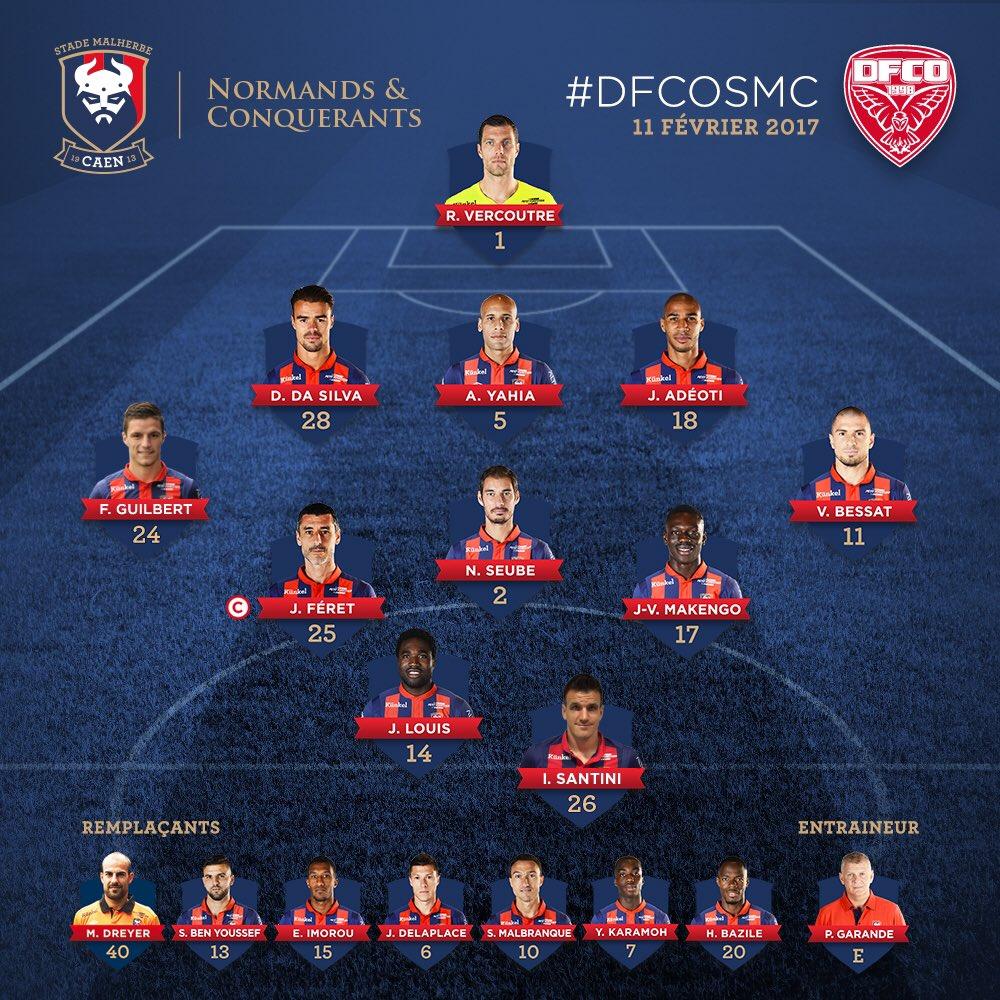 [25e journée de L1] Dijon FCO 2-0 SM Caen  C4ZzfJXWYAAFfDS