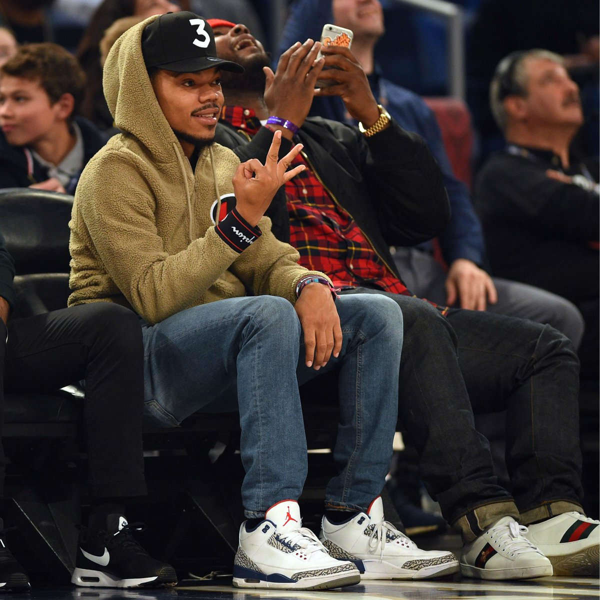 brand new 9c85c 42e4e solewatch: @chancetherapper wearing the