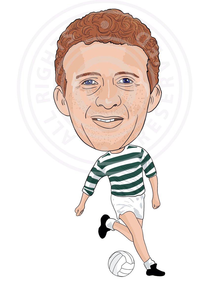 "Football Cartoon on Twitter ""Jimmy Johnstone Celtic Legend"