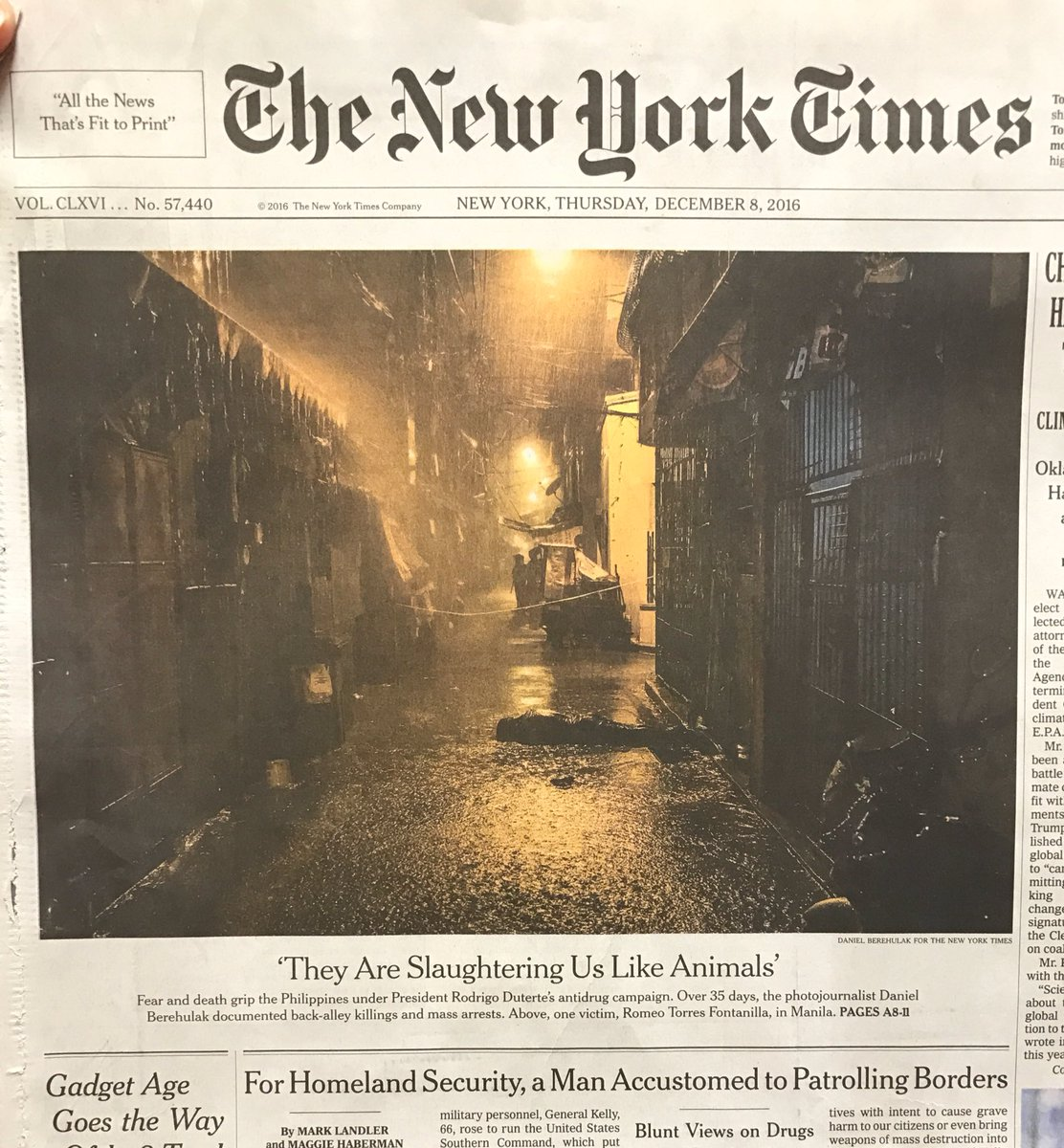 The @nytimes has won the second gold of the day in single day photo series. #SND38 #SND38medal https://t.co/Aymwa5vMg4