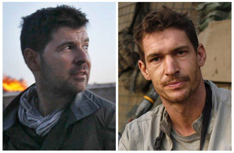 Chris Hondros and Tim Hetherington. #NotTheEnemy https://t.co/1yfyzns6t4