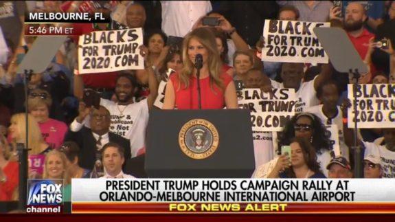 .@DrMartyFox @FLOTUS Wow So good as Melania Trump leads #WeThePeople in the LORD&#39;S PRAYER #TrumpRally  https:// youtu.be/k5NYpJfctxo  &nbsp;   #Pray4DJT<br>http://pic.twitter.com/JTKWPhqIfx