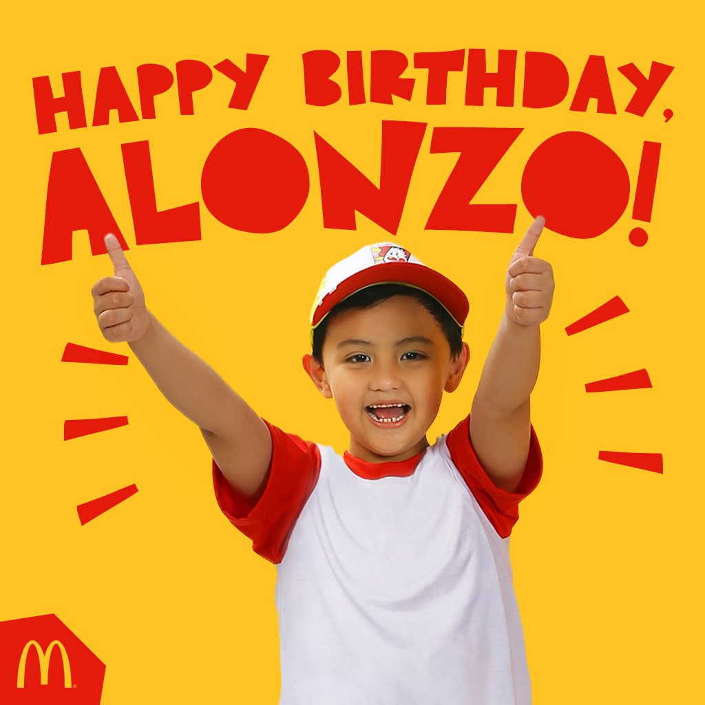 Mcdo philippines on twitter happy birthday to our favorite boy mcdo philippines on twitter happy birthday to our favorite boy reply to us with your birthday greetings for alonzo httpst9zqbvbnesf kristyandbryce Choice Image