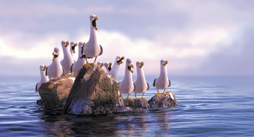 It's the squawk of the town! #FindingNemo is on @FreeformTV tonight at...