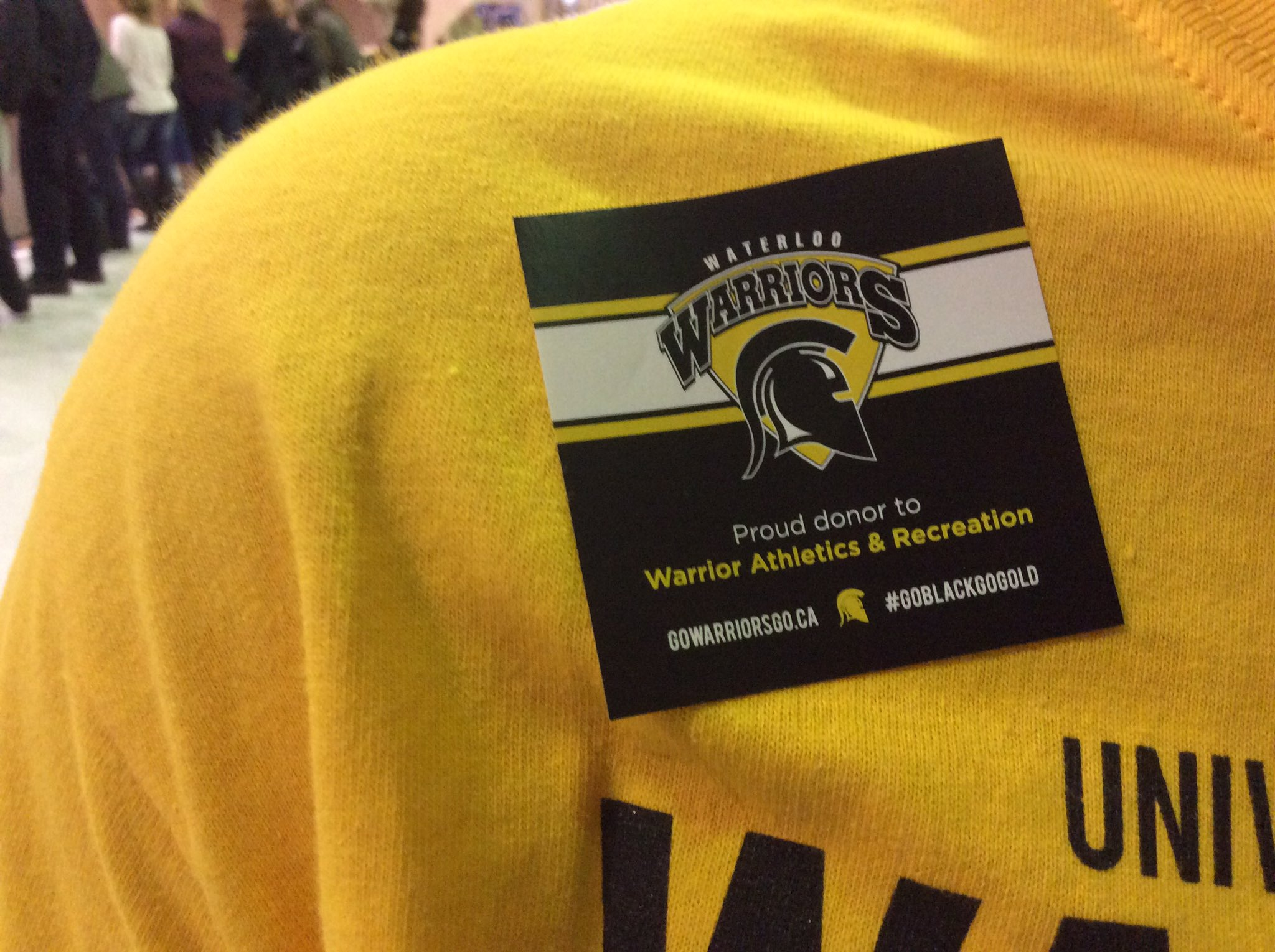 A special thanks to all the donors to @WlooWarriors. You are making excellence happen. #UWaterlooFAD #supportwaterloo https://t.co/epqzDJbCuJ