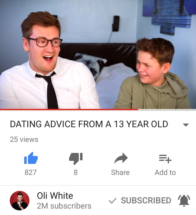 13 year old dating advice