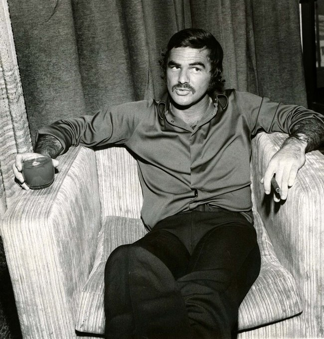 Happy birthday to Burt Reynolds. Photo from 1972.