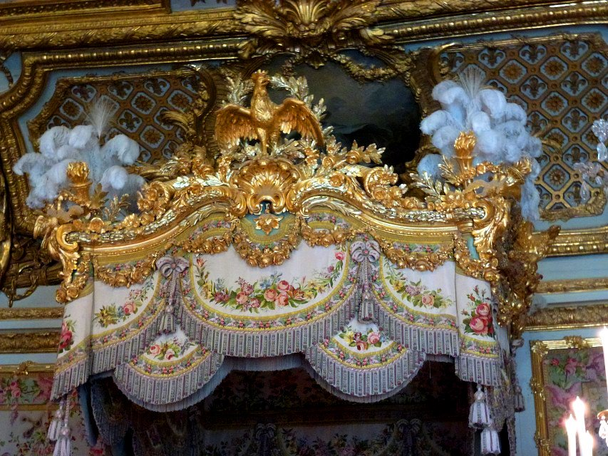 Remarkable Paul V On Twitter Detail Queen Marie Antoinette Bed Canopy Interior Design Ideas Apansoteloinfo