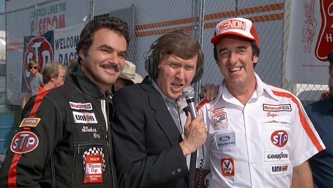 Happy 81st Birthday to Burt Reynolds! Stroker Ace, Ken Squire, Lugs Harvey: All should be in