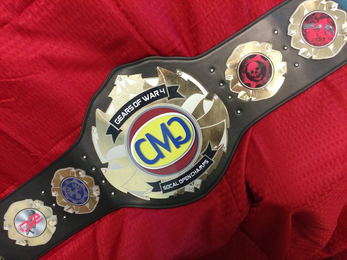 The CMG SoCal Tournament Belt