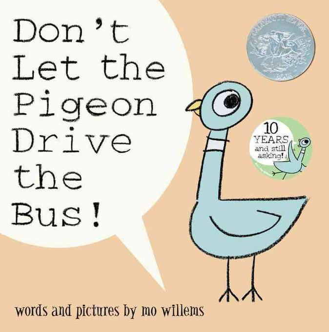 Happy Birthday Mo Willems born February 11, 1968 - This book is available in our library!