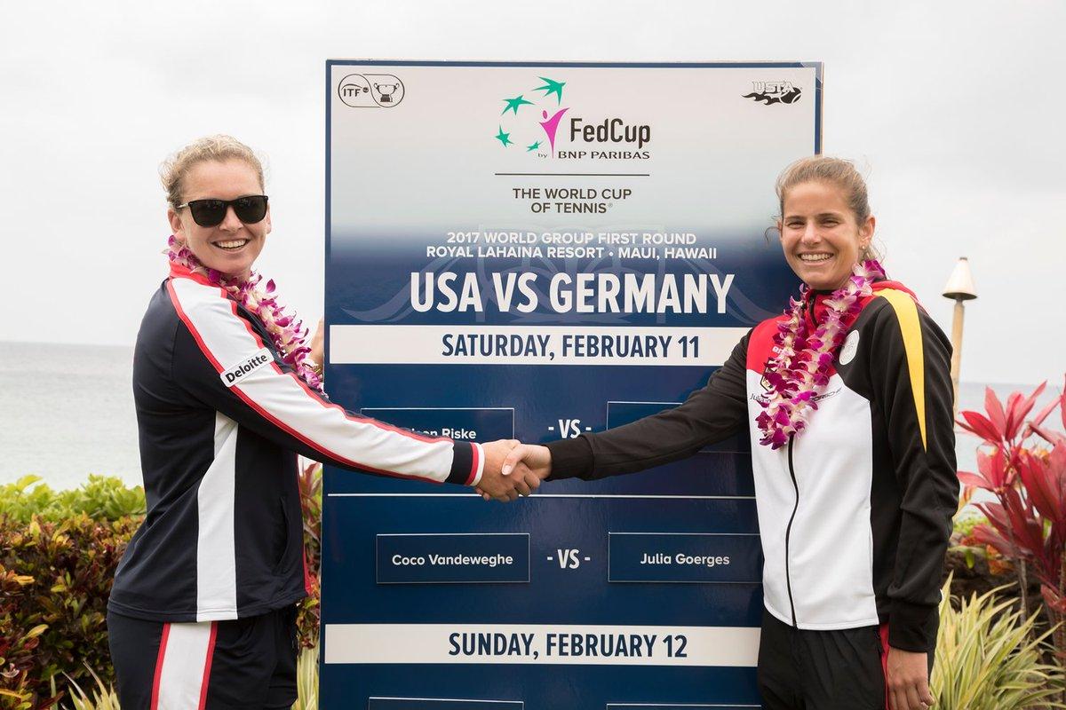Vandewegheová a Görgesová se naposledy utkaly ve Fed Cupu, Němka skrečovala