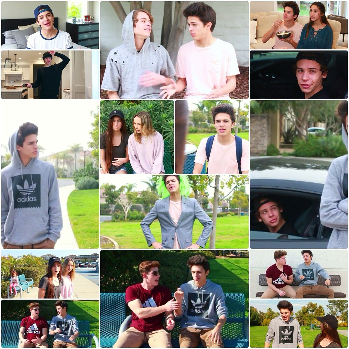 Brent Rivera Tumblr Collage | www.imgkid.com - The Image ...