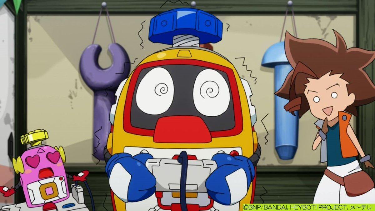 #ヘボット! 2/19(日)第21話「時をバグるピコピコ」世界がピコピコにバグ?仮想と現実が繋がり……