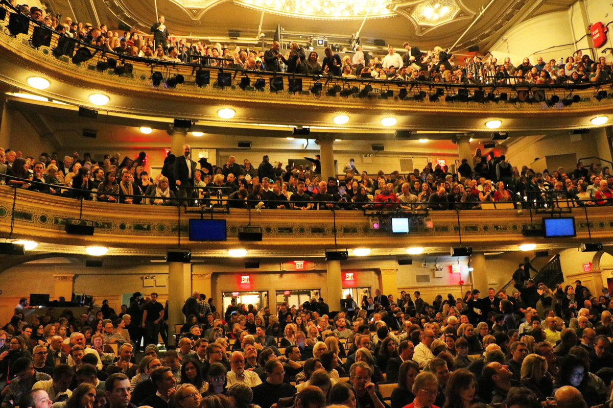 Hudson Theatre On Twitter Our First Audience Is In Lets