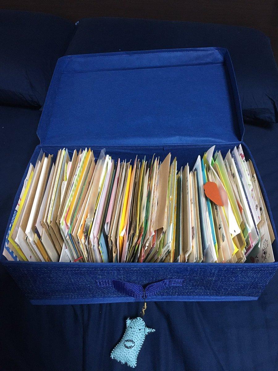 後たくさん手紙ももらいました。 こーやっていろんな人から手紙を頂けるのは本当に嬉しいです。 1人1人…