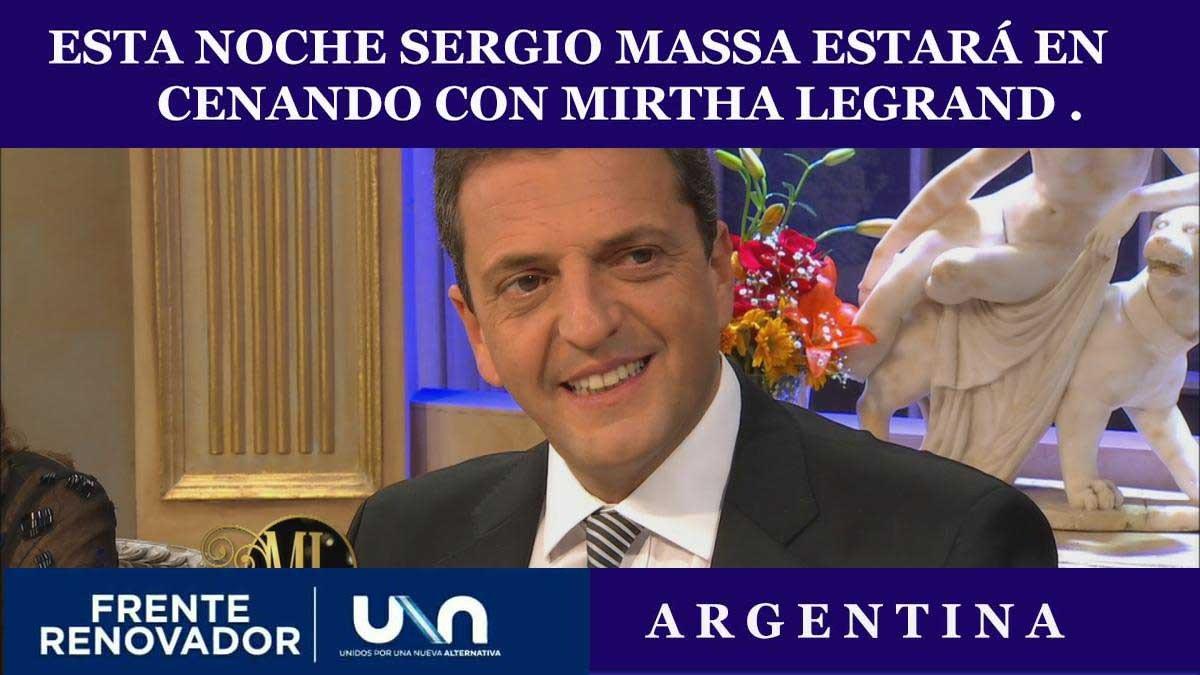 #sergiomassaconmirtha en canal 13 22hs  @SergioMassa @Stolbizer  #frenterenovador  <br>http://pic.twitter.com/8DZ8newN7i