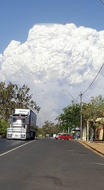 Sir Ivan fire from Dunedoo #NSWRFS https://t.co/3KiyI7bMwL