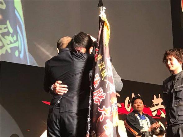 涙なみだ  ガテン系の男たちが本気で号泣! 日本一の熱き職人を決める、第二回建設職人甲子園・決勝大会…