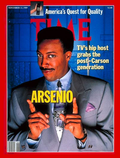 Happy Birthday to Arsenio Hall, who turns 61 today!